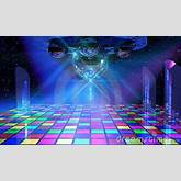 Colorful dance floor | Decade: The 70s | Pinterest