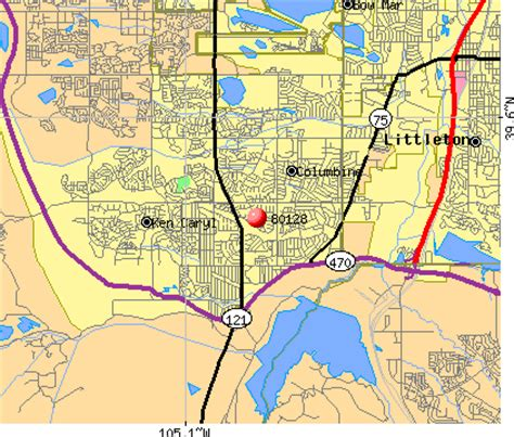 columbine colorado map 80128 zip code columbine colorado profile homes