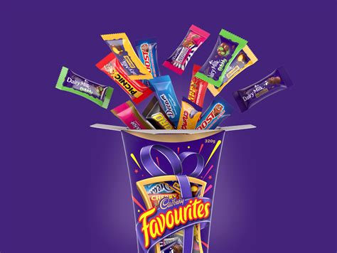 Cadbury Favourites cadbury favourites on behance