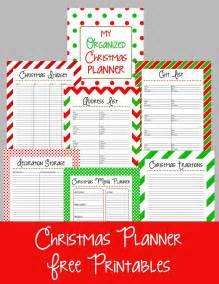 christmas planner free printables calendar template 2016