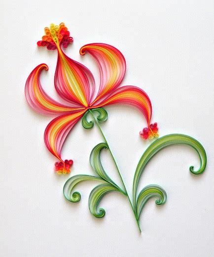 Make Paper Quilling Designs - amazing paper quilling patterns and designs chilli