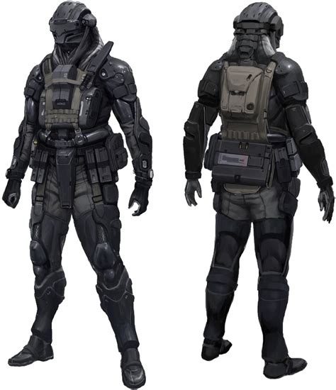 Class Black Boots Cb Leather 04 m7 objective ground reconnaissance armour halo fanon