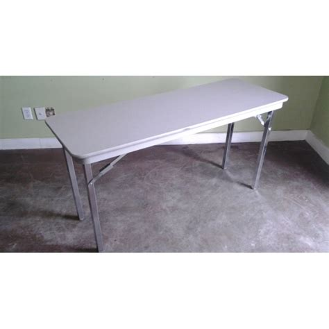 heavy duty folding table legs grey heavy duty folding table 54 quot x 20 quot x 29 quot locking