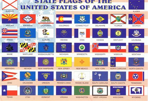flags of the world united states 50 state flags state flags of the 50 united states