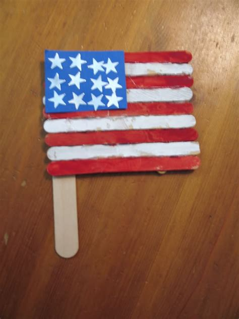 easy craft stick projects memorial day craft easy popsicle sticks american