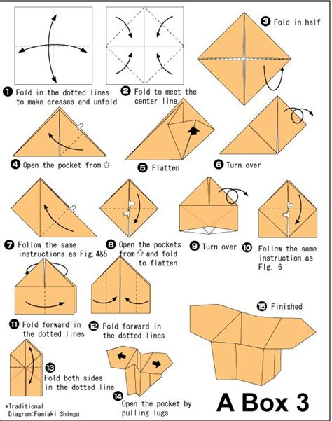 How To Make Paper Origami Box - 25 best ideas about origami boxes on diy box