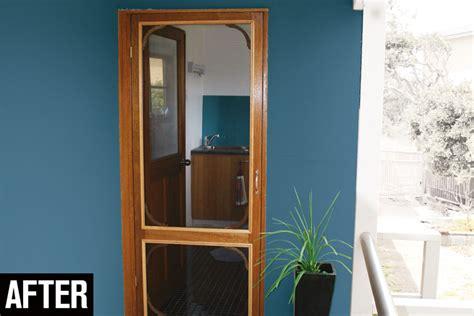 Replace Screen Door how to replace screen door mesh australian handyman magazine