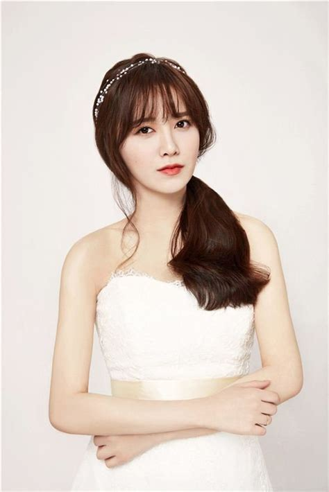 ku hye sun hair cut in 2015 35 gorgeous photos of korean celebrities in wedding