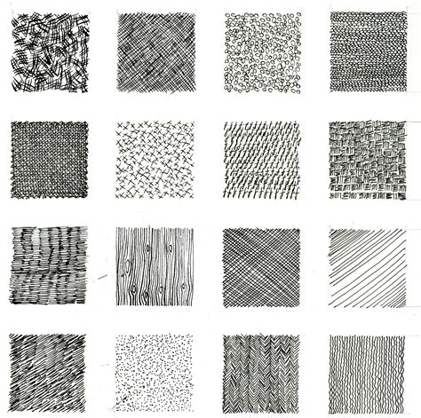 Pattern Drawing Exercises | mark making this seems simple but also like it could be