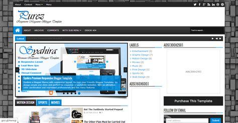 magazine responsive layout top 10 best free blogger premium templates free premium