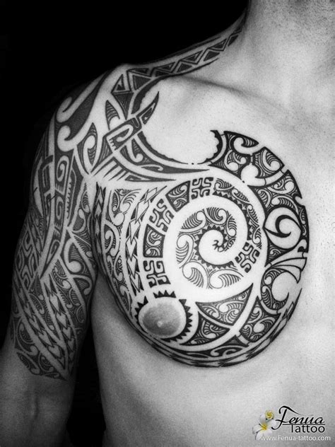 tahitian tattoo tattoo polyn 233 sien tribal sur le mollet tatouage epaule tribal galerie tatouage