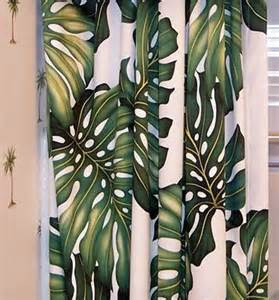 Tropical Print Curtains Tropical Curtains For Your Hawaiian Home The Hawaiian Home