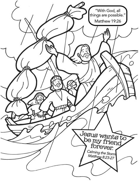 free bible coloring pages jesus calms the best 25 jesus calms the ideas on
