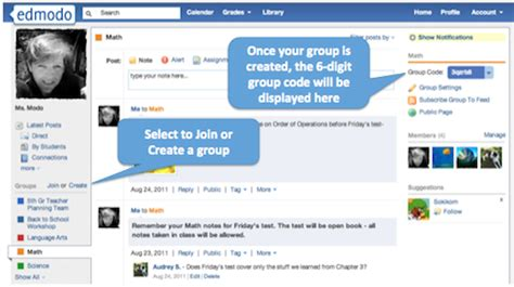 edmodo how to join a group edmodo groups code for subject and grade cita hati