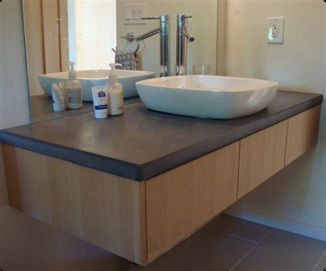 Concrete Countertops Bathroom Vanity Concrete Countertops Bathroom Vanity Bathroom Vanity Concrete Countertop With Rectangular