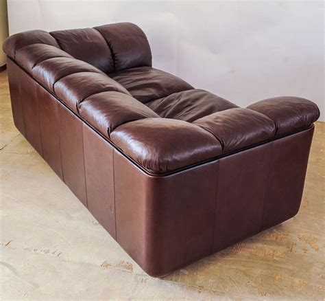 leather sofa by poltrona frau at 1stdibs