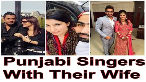 prabh gill with his wife punjabi singer s with their wife prabh gill jazzy b