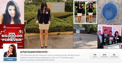 Pch Danielle Lam Instagram - top 3 ways to follow danielle of the pch prize patrol pch blog