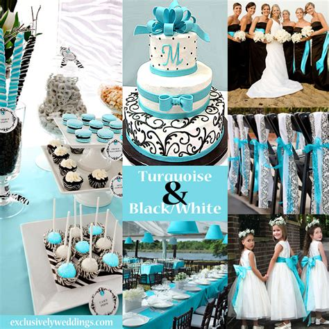 black and white wedding colors seven glorious combinations exclusively weddings