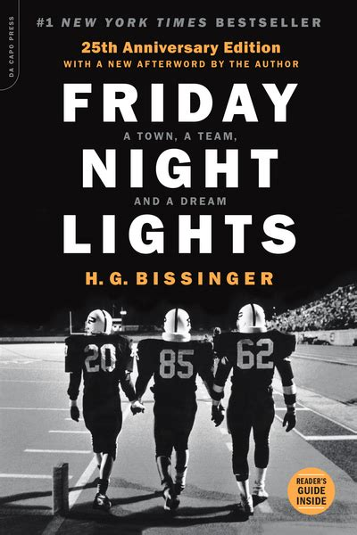 how to friday lights friday lights a town a team and a by h g