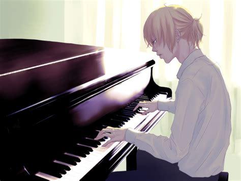 anime piano vietblueart