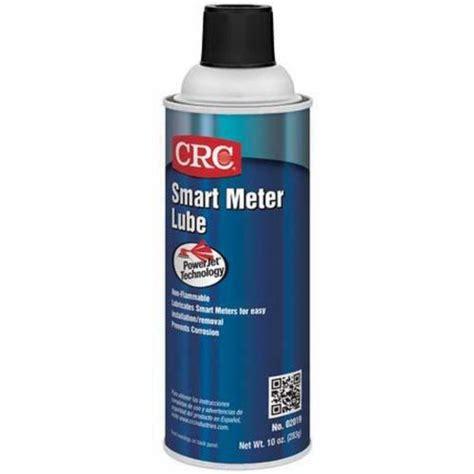 Crc Electrical Quality Silicone 2094 crc 174 02019 grease smart meter utility lubricant 16 oz aerosol liquid translucent white