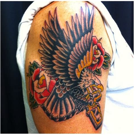 christian eagle tattoo 30 best pinterest sleeve rose tattoos images on pinterest