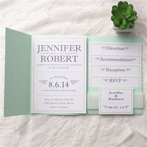 pocket wedding invitations with inserts best 25 pocket wedding invitations ideas on