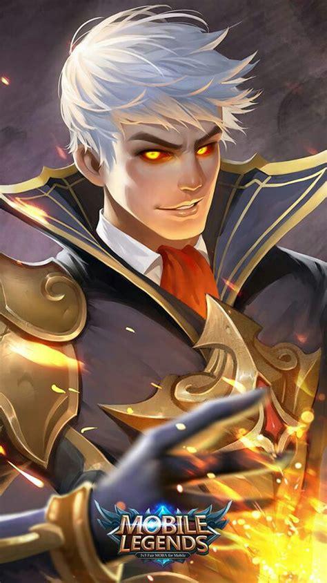 wallpaper desktop mobile legend mobile legends alucard quot fiery inferno quot mobile legends