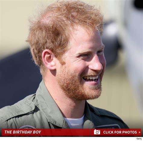 prince harry ginger bearded on his birthday photos