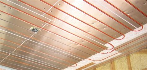 Electric Radiant Heat Ceiling Panels by Renewable Hydronic Heating Home Power Magazine