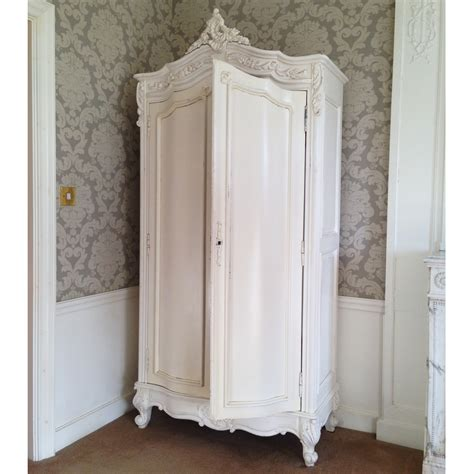 White Armoire by Provencal White Carved Armoire Bedroom Company