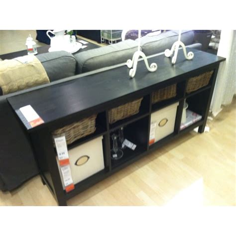 ikea sofa table with baskets baskets for hemnes side table house mouse