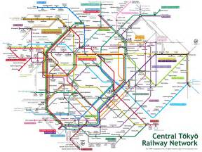 Japan Subway Map by Tokyo Metro Map Tokyo Mappery