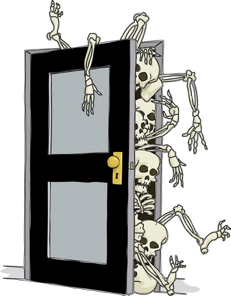 Skeletons In Closet by Skeletons In The Closet Family Tales From Gail