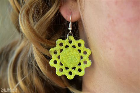 Crafts To Make Out Of Paper - how to make diy earrings out of paper
