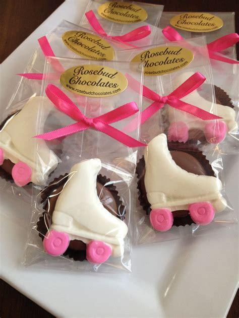 chocolate roller skate oreo cookies skating birthday party candy favors wwwrosebudchocolates