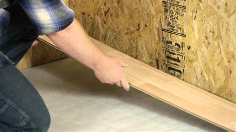 Installing Laminate Flooring On Uneven Subfloor by Floating A Laminate Floor On Top Of Uneven Tile Let S
