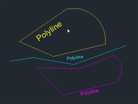 autocad tutorial arrow with polyline autolisp polyline direction preview autocad tips