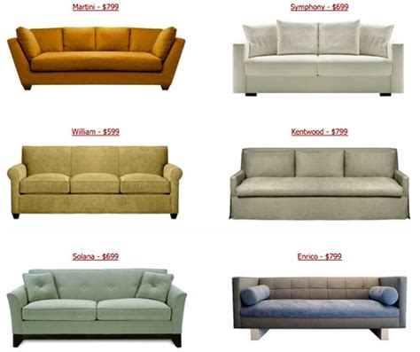 sofa versus couch the look for less cheap couches from custom sofa design
