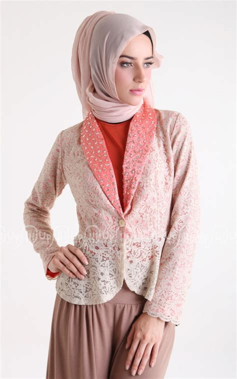 Blazer Muslim 54 best images about blazer batik on