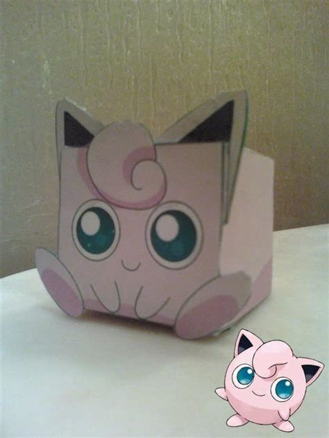 Jigglypuff Origami - jigglypuff cubee finished by rubenimus21 on deviantart