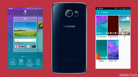 install themes galaxy s5 how to enable galaxy s6 theme support on galaxy s5 s4