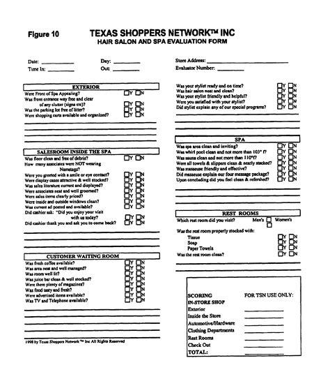 Index Of Cdn 29 1997 874 Restaurant Secret Shopper Template