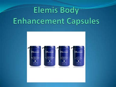 Elemis Detox Capsules Ingredients by Elemis Detox Programs