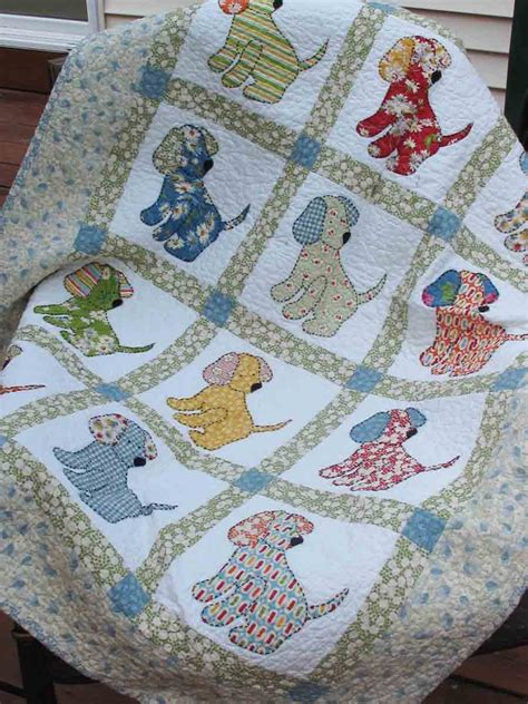 Free Baby Quilt Applique Patterns by Vintage Applique Quilt Patterns Vintage Vogue