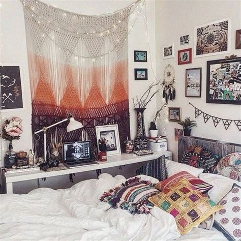 picture of refined boho chic bedroom designs