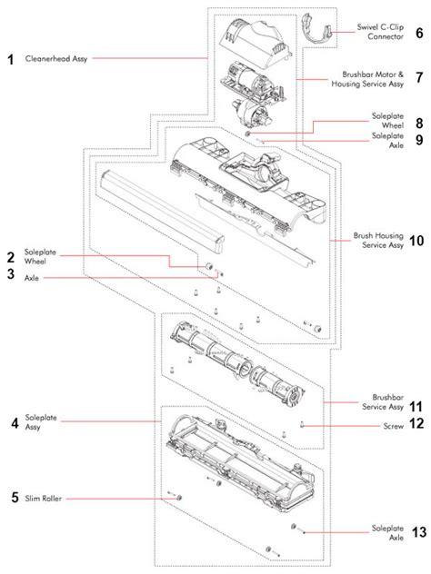 dyson vacuum parts diagram hayward pool filter schematics hayward get free image