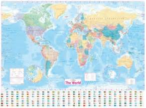 Laminated World Map by Collins World Wall Laminated Map New Edition Collins Co Uk