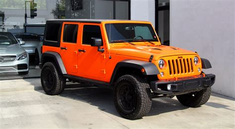 used jeep wrangler rubicon 2016 jeep wrangler unlimited rubicon 4x4 stock 180285